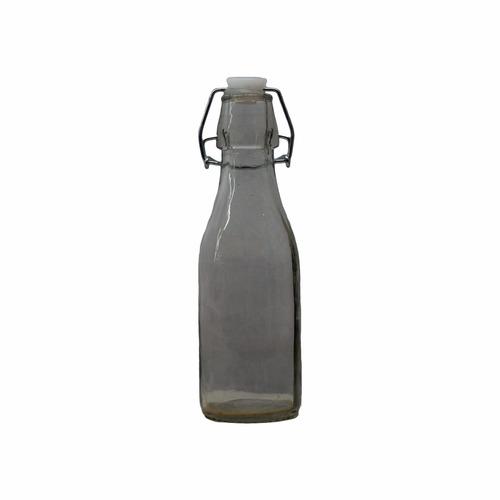 botella mini de vidrio decorativa. milmanias