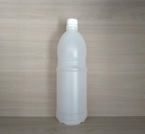 botella polietileno 1lt tapa rosca blanca