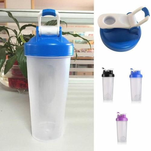 botella shaker para batidos deportiva mezcladora shaker ball