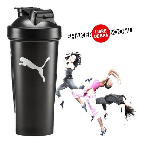 botella vaso puma shaker de batidos agua fitness mvd sport