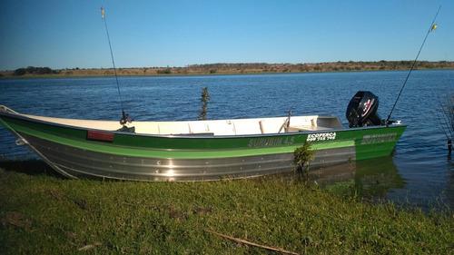 botes de aluminio