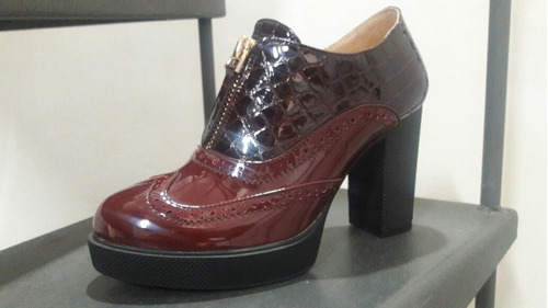 botines de dama.