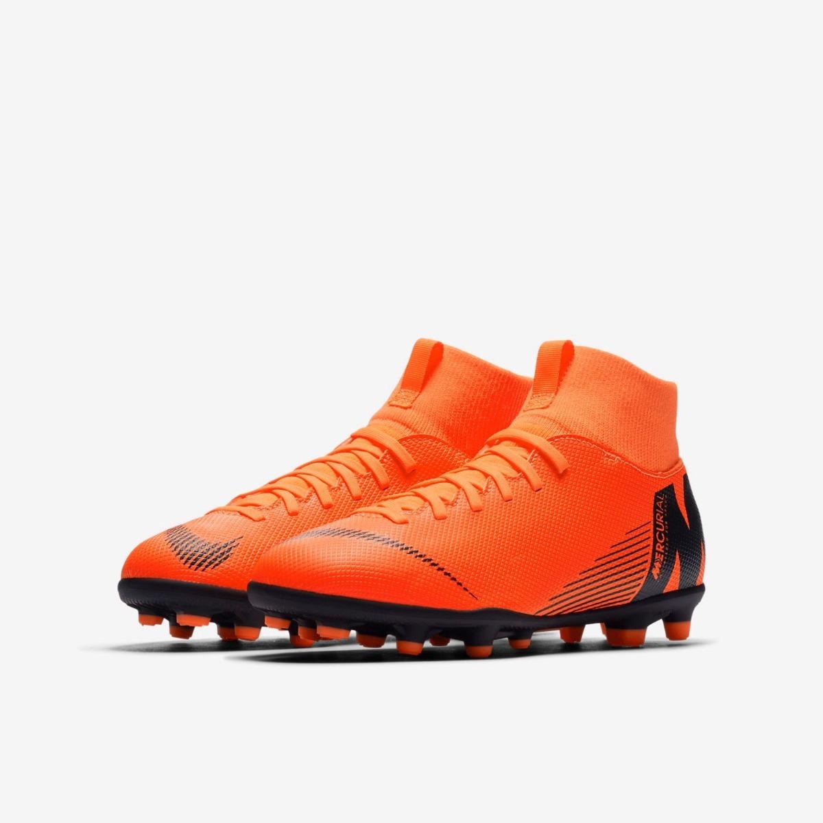 botines de futbol nike mercurial superfly vi (niños ). Cargando zoom. 8ce811b4cab47