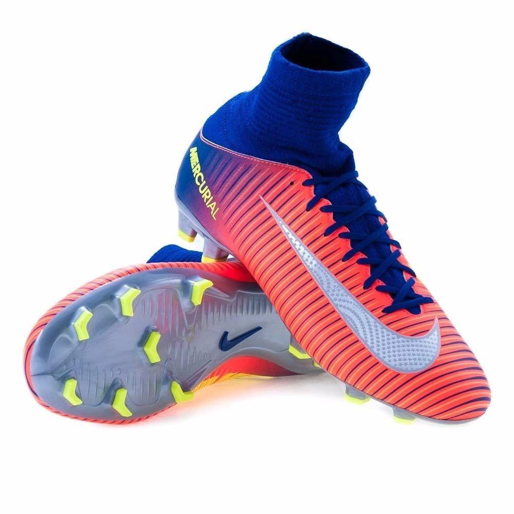 cd7a5a098 Botines Nike Jr Mercurial Superfly V Fg (talle 4 Us ) - U$S 150,00 ...