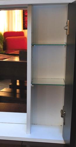 botiquines .botiquin espejo con luz 53 x 50 envio gratis