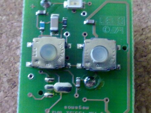 botón microswitch para control astra, platina, corsa, vw