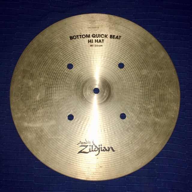 64f7c4e18cd Bottom Hi Hat Zildjian Avedis Quick Beat 14 - U S 120
