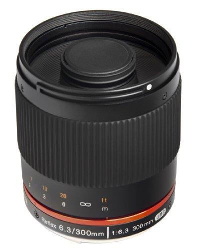 bower sly30063cm 300mm f 6.3 high power digital telephoto