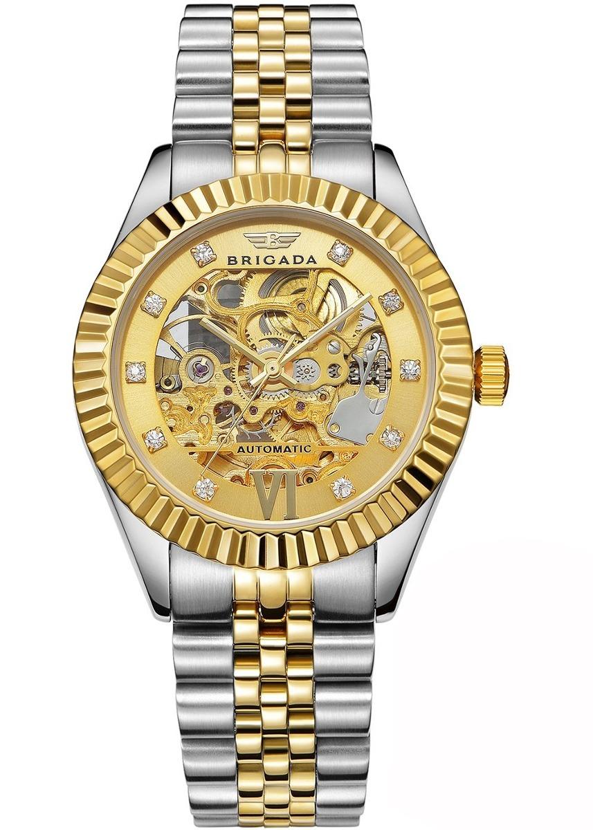 3167cbaf28a0 brigada relojes suizos relojes automáticos de oro de lujo. Cargando zoom.