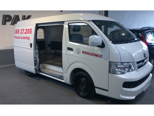 brilliance furgon h2s mt cargo van