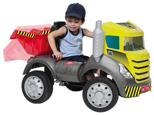 brinquedo menino carro caminhao truck e caçamba brutus pedal