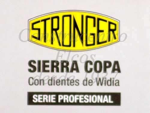 broca p/construcción widia 110mm stronger