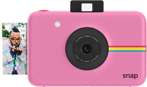 broche de presión instantánea digital cámara polaroid