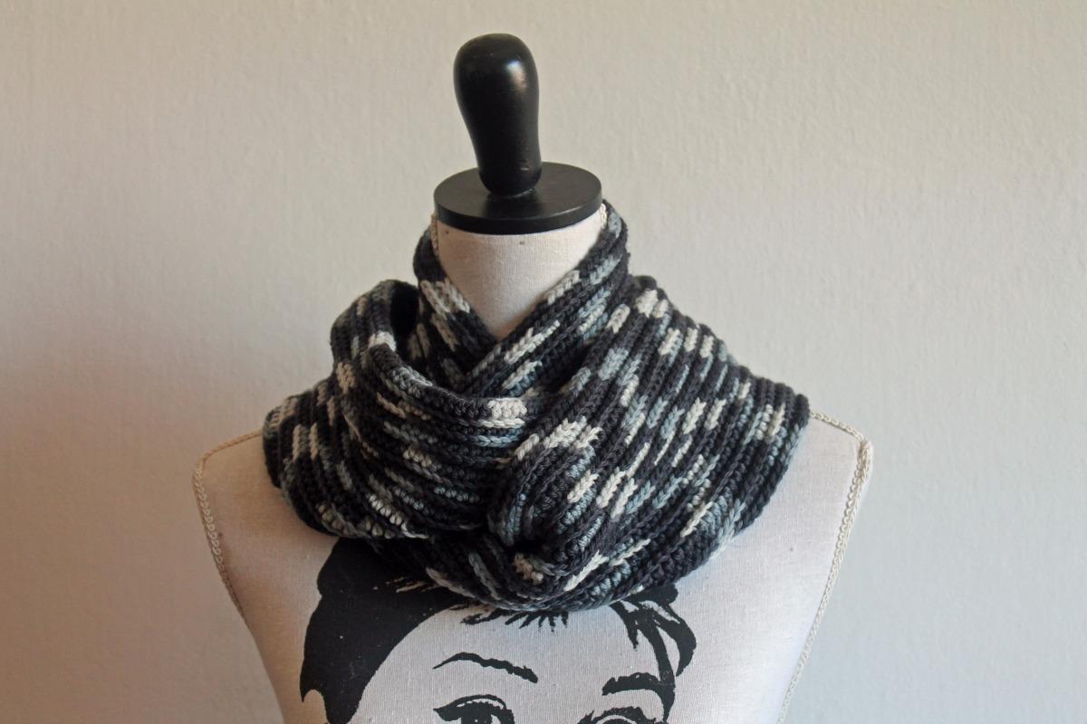 Bufanda Cuello En Lana Merino Crochet Artesanal - $ 700,00 en ...