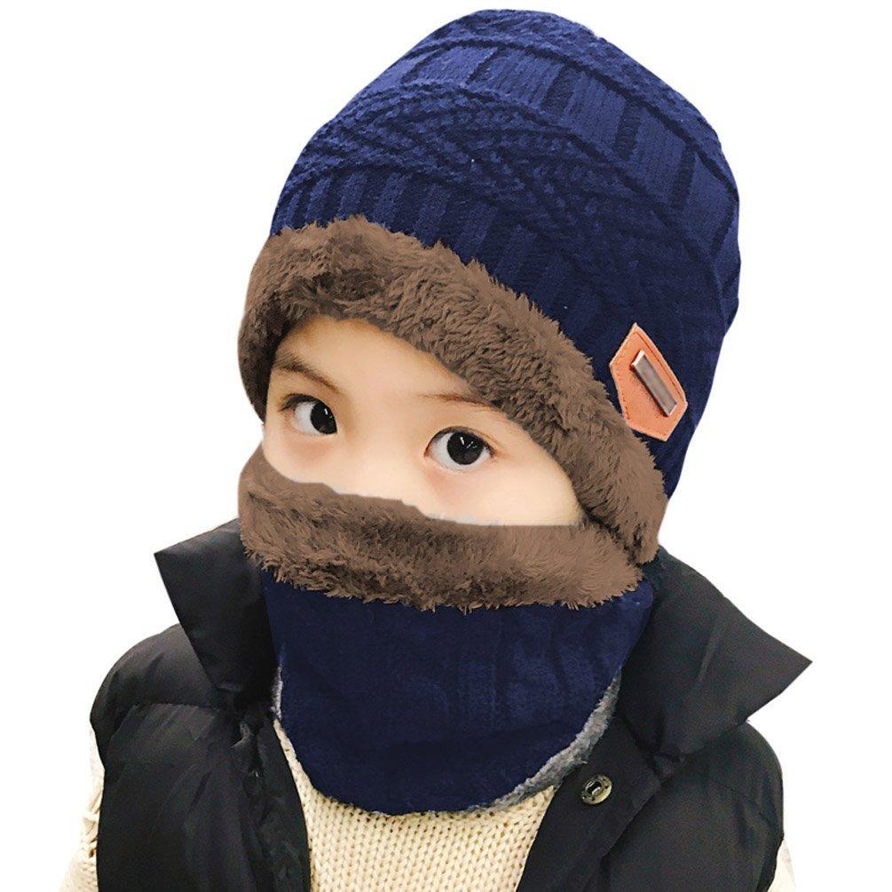 3a726bf81 bufanda del sombrero de invierno para niños niñas niños (. Cargando zoom.