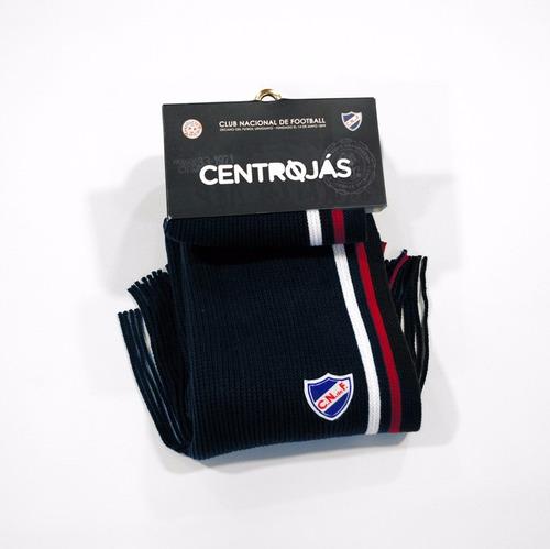 bufanda tejida | centrojás | club nacional de football