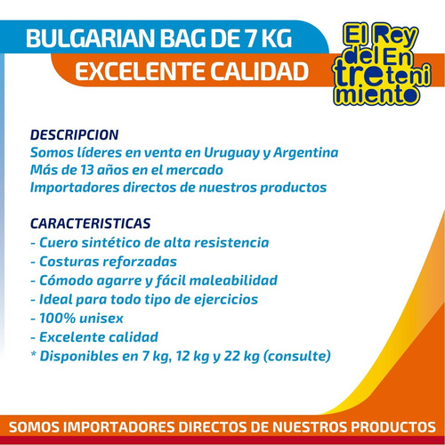 bulgarian bag p/ crossfit fitness pesas entrenamiento el rey