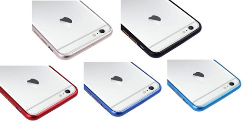 bumper o protector borde aluminio iphone 7 6s 6 / 6 7 plus ®