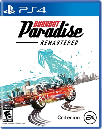 burnout paradise remastered - playstation 4 ps4 - físico
