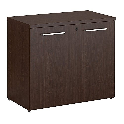 bush business furniture 400 series bookcase with doors in