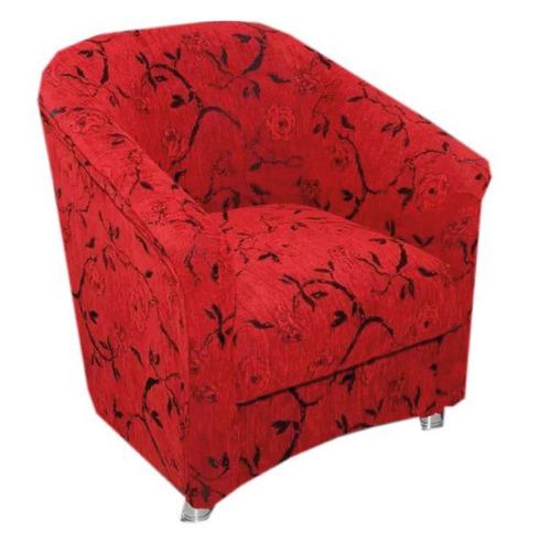 butacas sillon sofa living roma rojo