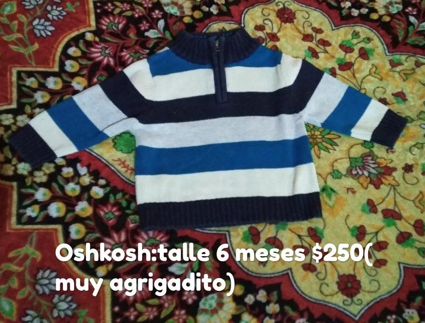 7910ceede Buzo Bebe Oshkosh De Abrigo. Talle 6 Meses, Excelente. - $ 250,00 en ...