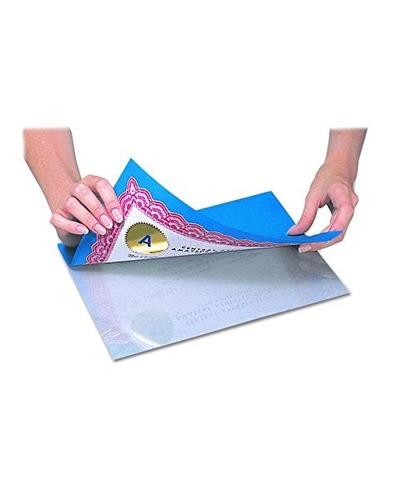 c-line heavyweight clearing adheer laminating film sheets