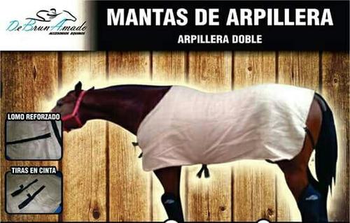 caballo - mantas arpillera doble (excelente abrigo!!!)
