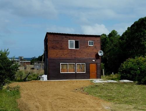 cabaña a estrenar en la pedrera, 82 m2