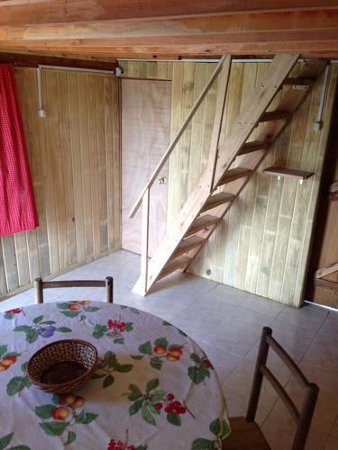 cabaña en aguas dulces. ideal para descansar