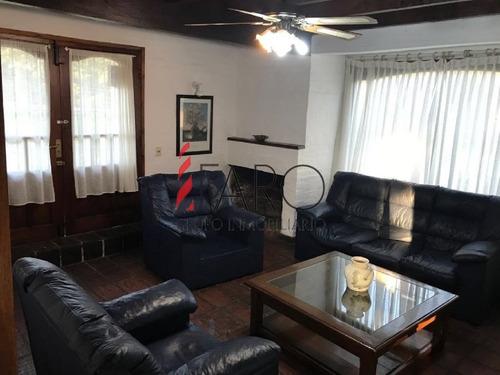 cabaña en el golf 4 dormitorios con terraza y parrillero - ref: 36082
