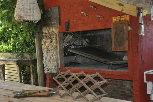 cabaña en manantiales  equipada para 8 personas