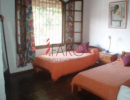 cabaña en pinares 3 dormitorios piscina parrillero - ref: 33937