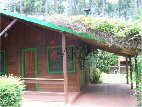 cabaña en rincón del indio 2 dormitorios con parrillero y cochera - ref: 34148