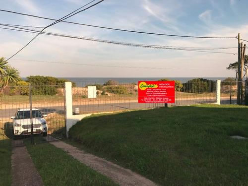 cabaña frente al mar en las toscas - inmobiliaria calipso