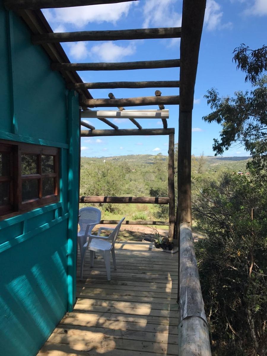 cabaña la rana alquiler temporario o anual villa serrana