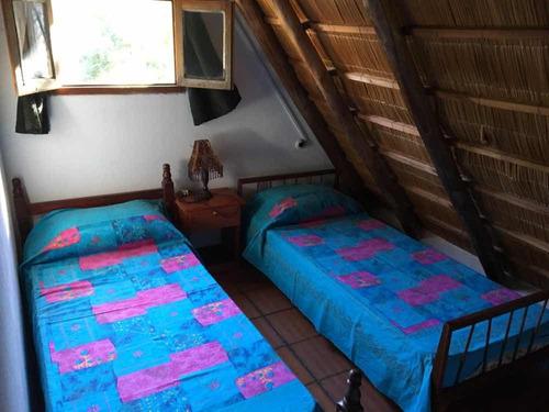 cabaña para 6 personas en el mejor lugar de playa grande
