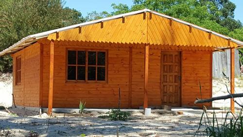 cabañas económicas ,aberturas ,tablas de pisos ,postes ,deks
