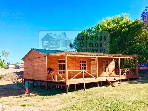 cabañas prefabricadas, casas de madera, casas