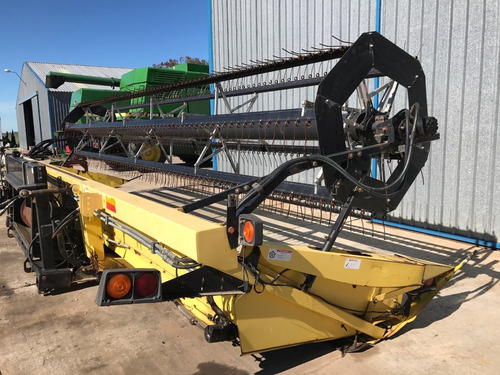 cabezal de lona de 25 pies para cosechadora o hileradora