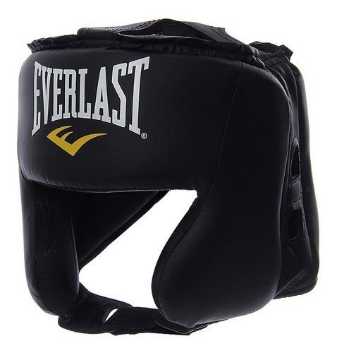 cabezal protección everlast headgear boxeo kickboxing mma