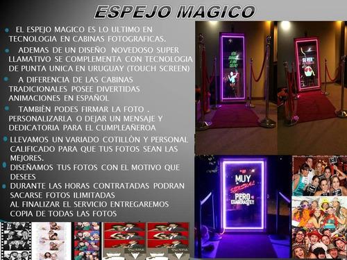 cabina fotográfica / espejo mágico