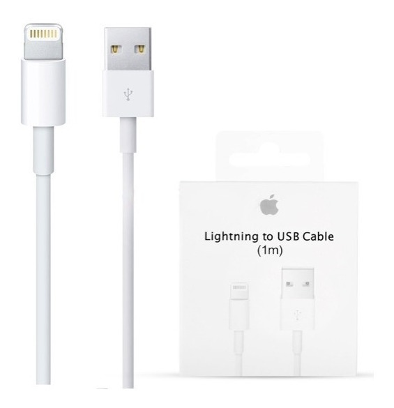 5515e9cd5f8 Cable Cargador Original Apple 1 Metro iPhone 6 6s 7 7 Plus - $ 450 ...