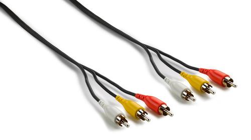 cable de a/v compuesto - 3 rca macho a 3 rca macho