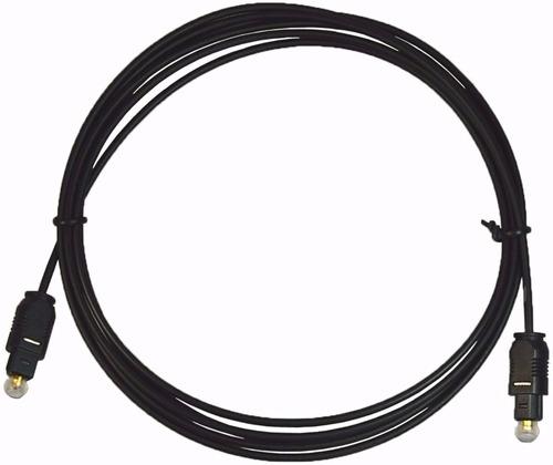 cable de fibra optica 4 metros audio digital toslink