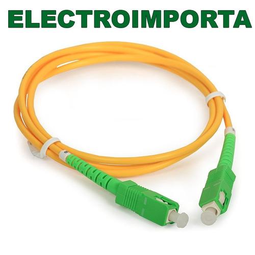 cable de fibra optica antel 10 metros - electroimporta