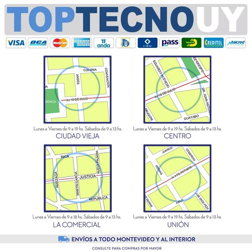 cable de poder cargador notebook mickey schuko calidad gtia®