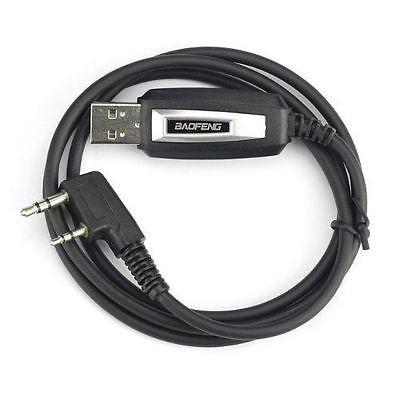 cable de programación usb + cd para baofeng uv-5r + plus rad