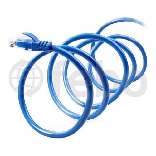 cable de red 2.5 metros ethernet rj45 utp cat6 calidad