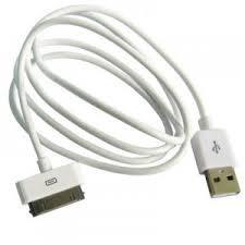 cable dock usb 2.0 carga sincroniza iphone 3g 3gs 4g 4s